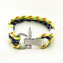 China factory new arrived cheapest nylon fashion high quality wholesale custom bracelet