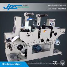 Doble-Estación de precio de la máquina de corte de etiquetas de herramientas de corte con Funcion de corte