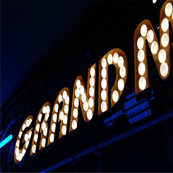 China Large Vintage Style Led Lights Marquee Letters
