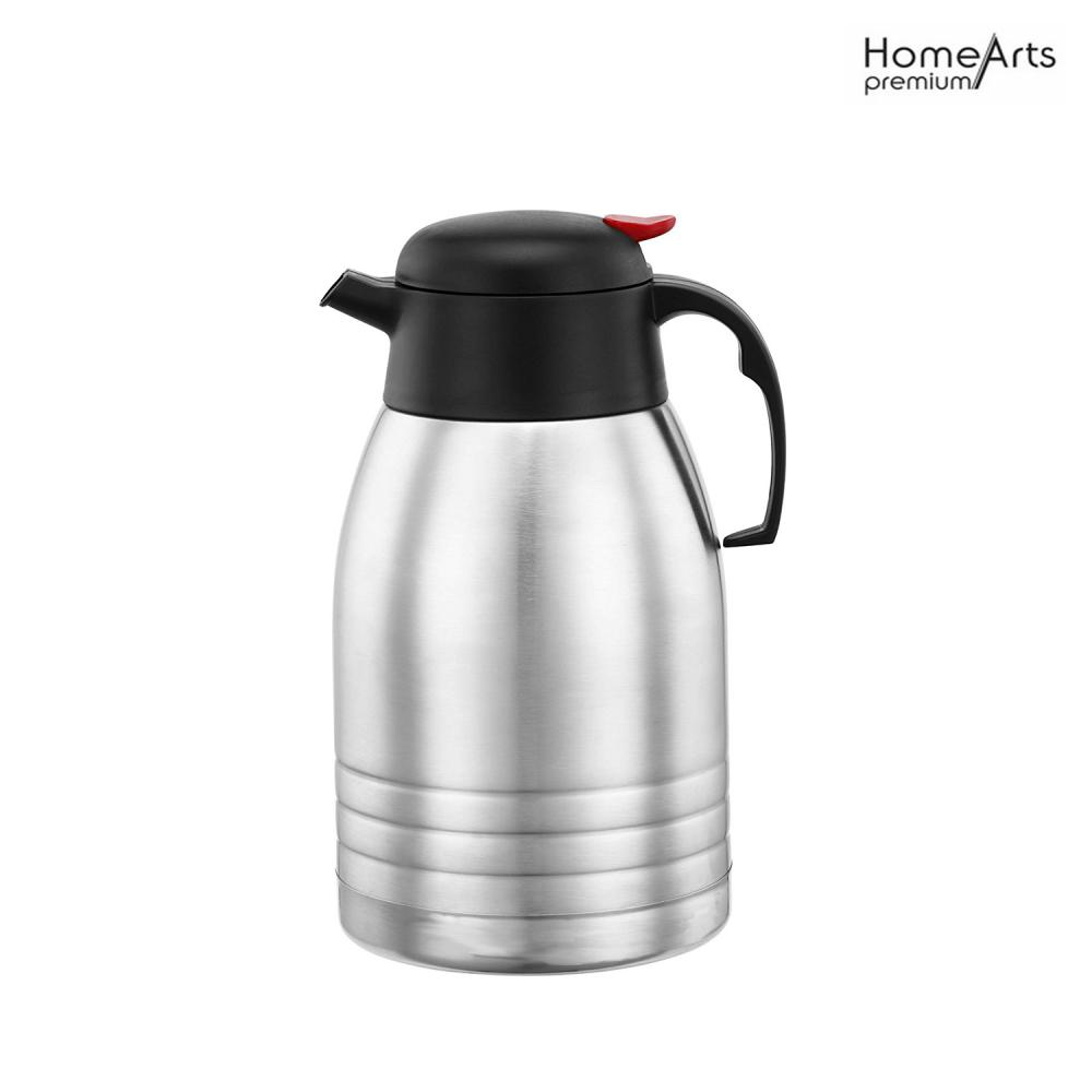 Insulated Double Walled Stainless Steel 2 Litre Vacuum Jug Flask
