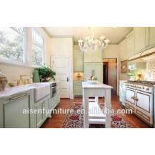 Simple Design American Shaker Style Cabinet de cuisine en bois massif populaire pour American Market