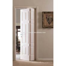 4 Panel gekörnt Holzplatte Bi-Fold Tür