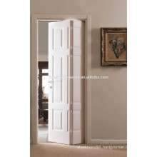4 Panel Grained Bi-Fold Wooden Panel Door