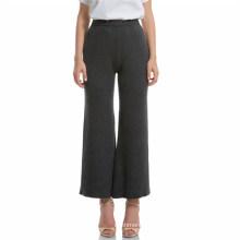 Pantalones de mujer de cashmere, pantalones de tejer