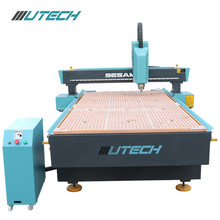 Muestra de acrílico de aluminio de la madera dura del CNC que hace la cortadora