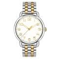 Montre-bracelet pour femme Fine 316L Matériau Qualité Mode 2 tons Couleur Montre-bracelet
