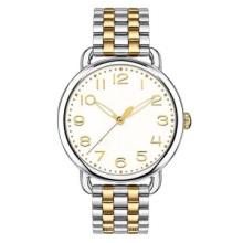 Pulseira de relógio para mulheres fina 316L material de qualidade de moda 2 tons cor relógio de pulso