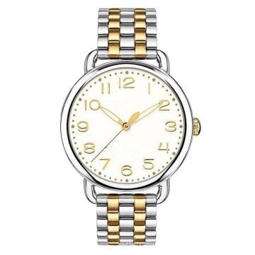 Bracelet Watch for Women Fine 316L Material Quality Fashion 2tone Color Wristwatch