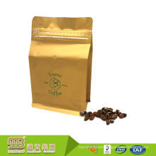 Flexible Packaging Custom Made 1Kg Aluminum Foil Resealable Ziplock One Way Valve Coffee Packing Bags