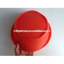 Vente chaude de panier de silicone de haute qualité