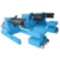 5 Toneladas Manual Color bobina de acero decoiler