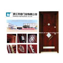 Türkischen Stil Stahl Holz gepanzerte Tür