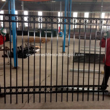 Ornamental Aluminum Fencing with Ring