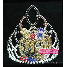 gorgeous crystal beauty pageant princess Halloween tiara