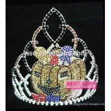 Великолепный хрустальный конкурс красоты принцесса Хэллоуин тиара