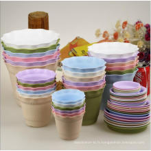 (BC-F1030) Pot de fleurs en plastique à la mode