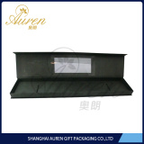 Custom hair extension box for false hair packaging with window