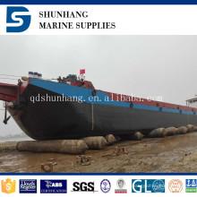 6 + 1 camadas de venda quente shunhang marinho levantamento e desembarque airbag de borracha inflável