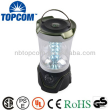Portable compass 30 led ultra bright camping lantern
