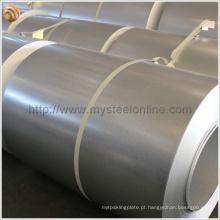 GI / GL Telhado Aço Prime Hot Dipped Galvanizado Bobinas de Aço com 40 ~ 275g / m2 Zinco Peso