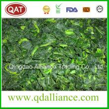 IQF Frozen Chopped Spinach avec norme de qualité USDA