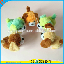 Hot Item Novelty Design Soft Plush Electric Walking Barking Colorful Puppies with LED Light