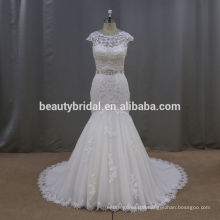 KR001 china suzhou fish cut gown robe de marriage wedding dresses