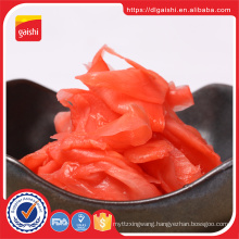 Japanese supplier Grade AB seasoned pink pickled sushi white ginger