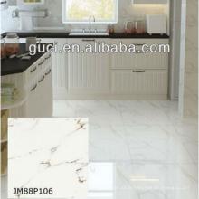 carreaux de sol en marbre antidérapants artificiels pour les carreaux de marbre blanc