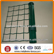 Woven welded wire fence rolls