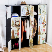 Творческий шаблон DIY Пластиковые шкафы для дома (ZH0020)