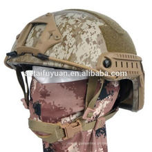 RÁPIDO Capacete à prova de balas Kevlar NIJ IIIA Kevlar Ballistic Helmet