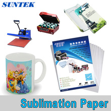 A3 A4 Roll Sublimation Paper for T-Shirt Mug Phone Case