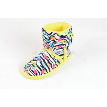 warm terry cloth slipper women winter boots plush shoes