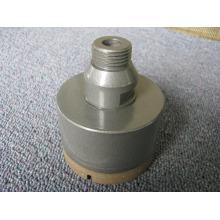 64 mm sinterização o bocado de broca de diamante & bronze