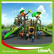 2014 Nouveau design Installation facile Enfants Structure extérieure pour parc de terrain Utilisation LE.CY.002