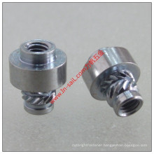 2016 Wholesale Thread Insert Nut Aluminum Knurled Manufacturer