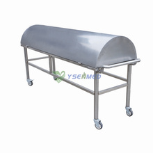 Medical Mortuary Corpse Cart (With Cover)
