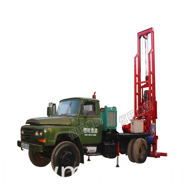 truck mounted water well drilling rig