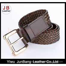 Hot Sell Ladies Bonded Leather Braid Belt