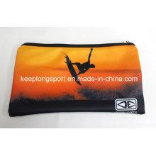 Full Colors Printing Neoprene Pencil Case, Neoprene Pencil Bag