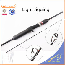 JGR033 Hot selling cheap fishing rod nano carbon light jigging rod