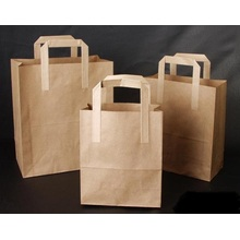 Beautiful brown kraft paper bag