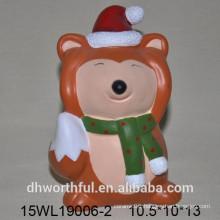 2016 Ceramic fox for home decoration