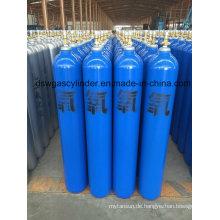 99,9% Co-Gas gefüllt in 2L Zylindergas mit Ventil