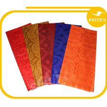 Nuevo estilo popular Ghalila Yarn Teñido de textiles Hecho a mano de tela de brocado de guinea