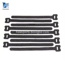 Adjustable Retractable Sticker Cable Tie Black