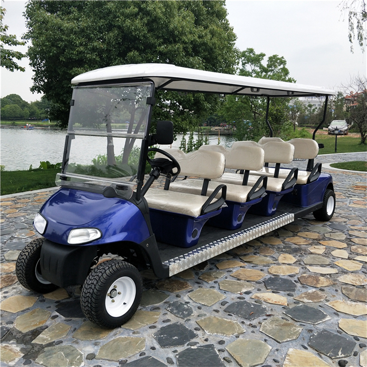 8 Seat Scenic Spots Electric Sightseeing Vehicles