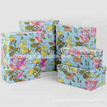 Wholesale Customized Flower Printing Paper Gift Packaging Boxes