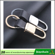 Cheap Promotional Gift Leather Keychain
